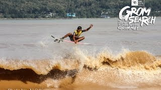 Pacitan Indonesia  City new picture : Indonesia: Pacitan - Rip Curl Asia GromSearch 2013 - Series #5