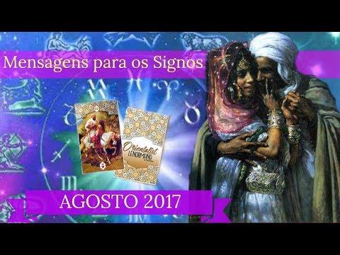 MENSAGENS PARA OS SIGNOS/AGOSTO 2017