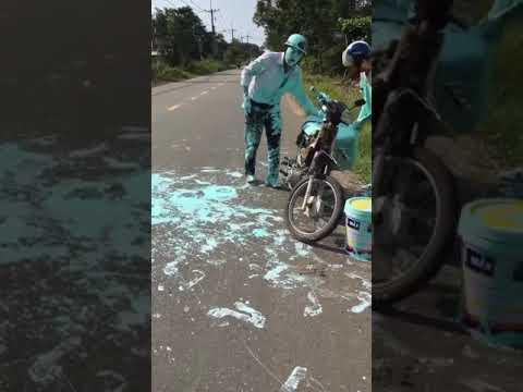 Một vụ tai nạn giao thông nghiêm trọng , nạn nhân biến hình hoàn toàn không còn nhận dạng được :((