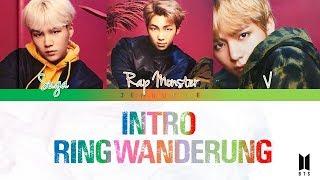 BTS (방탄소년단) - 'INTRO : Ringwanderung' [Color coded Lyrics] Kan|Rom|Eng