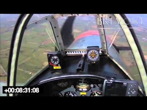 Mayday – Yakovlev Yak-50, Engine out forced landing video – www.AviationInspector.com