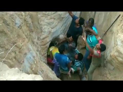 Δραματική διάσωση τρίχρονου κοριτσιού μέσα από πηγάδι