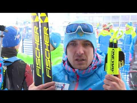 Евгений Гараничев после мужского пасьюта на 5-м этапе Кубка мира по биатлону в Рупольдинге