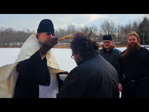 Theophany Blessing of the Lake at Saint Tikhon's Monastery 2018