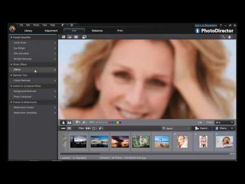 Cyberlink PhotoDirector 3 Perfect Portraits & Precise Editing