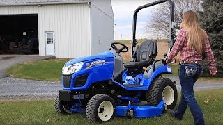 """8. New Holland Workmasterâ""""¢ 25S Subcompact Tractor"""