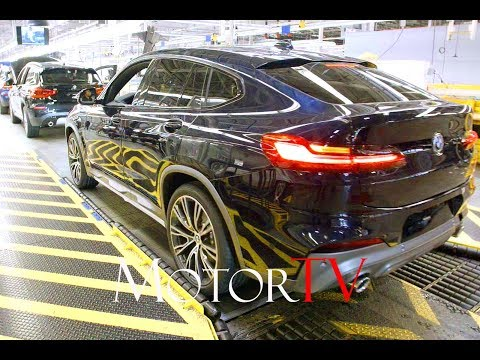 CAR FACTORY : 2019 BMW X4 (G02) PRODUCTION L BMW SPARTANBURG PLANT (US)