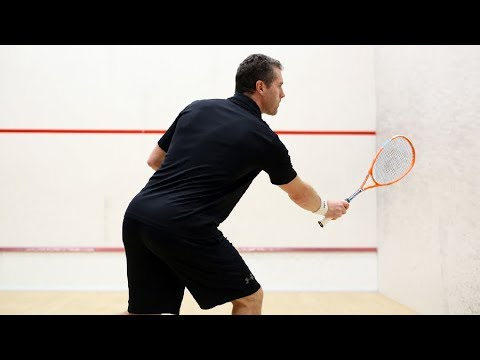 Squash coaching: The volley with David Palmer!