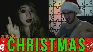 """I wanted to share some Christmas spirit on Omegle and I wasn't the only one! It's even funny how many people were on Omegle during the Xmas season! Here are some of the funniest reactions! --------------------------------------------------Keep stalking me: - https://twitter.com/TheAzGarot - https://www.facebook.com/TheAzGarot-  http://instagram.com/TheAzGarot-  https://vine.co/AzGarot--------------------------------------------------This is another video of mine with a bunch of spontaneous, hilarious Omegle reactions. For all of you Omegle fans, check it out, feel free to comment and share, I am sure you will enjoy it. I get a ton of angry, boring, funny, adult (read: masturbating! xD) reactions every day but I give you the very best of them in my prank videos.I am one of those Omegle junkies and I want to share my experience with you guys, I am sure that there are a lot of like minded people out there. Who knows, maybe your reaction is in one of my videos :)--------------------------------------------------For all of you who don't know what Omegle is, it is a website where you can meet and chat with random people from all around the world. Here is a link to the website: - http://www.omegle.com/Another website, pretty much the exact same thing as Omegle is Chatroulette. Here is a link: - http://chatroulette.com/--------------------------------------------------There is also a couple of Youtube videos and channels I would highly recommend you to see. If you are a Chatroulette or Omegle fan, I am positive that you will have a lot of fun with these: 1. This is a somewhat viral video of people getting scared on Chatroulette """"The last exorcism"""" style, a must see for online prank fans: - https://www.youtube.com/watch?v=CNSaurw6E_Q 2. Here is another video which is similar to what I do, basically a reactions video of people getting scared, the only difference is that Pinkstylist uses make up while I am using masks. I will also give you a link to his Youtube prank channel: """