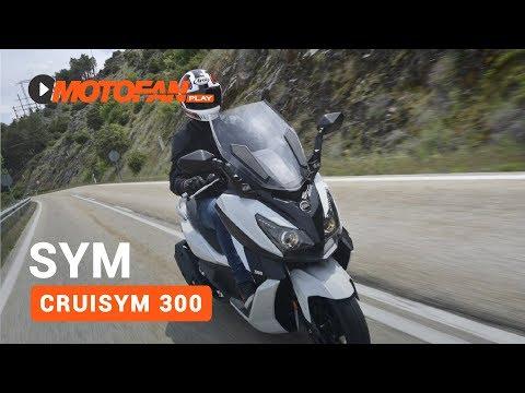 Vídeos de la SYM Cruisym 300