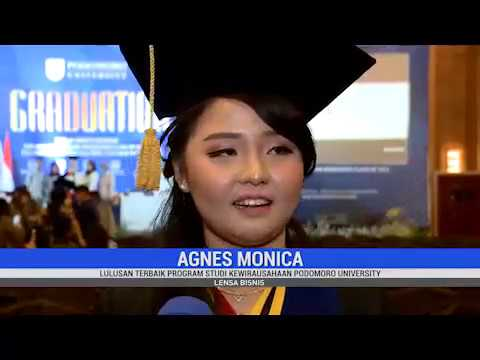 Podomoro University Graduation 2018 di Lensa Bisnis MetroTV News