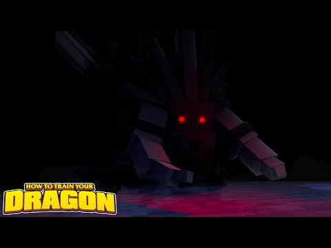 THE VOID BEAST DEFENDER!  HOW TO TRAIN YOUR DRAGON #73 w/ Little Lizard