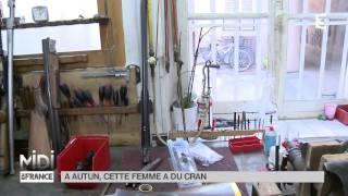 Autun France  city photos : MADE IN FRANCE : À Autun, cette femme a du cran
