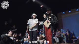 Kid Boogie vs Robozee – INFINITE POPPING 2019 STYLES&CONCEPTS LAST STAGE