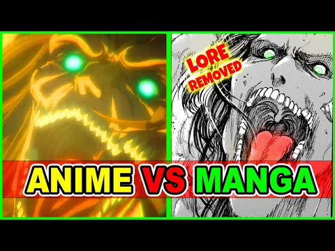 Eren Launches Attack on Marley? AOT S4 Anime Vs Manga | Attack on Titan Season 4 Episode 5