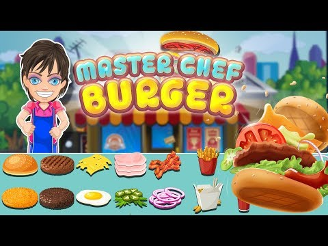 MasterChef Burger, Best Cooking Fever Game For Kids Specially For Girls, IOS & Android