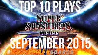 SSBM Top 10 Plays of September 2015