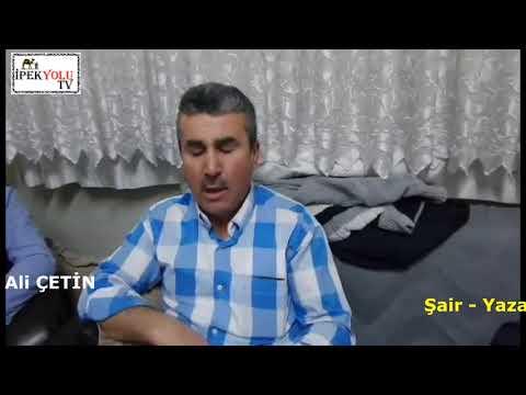 Kahramanmaraş'lı usta şair Cuma Ali Çetin Gaziantep'teki şairleri ziyaret etti