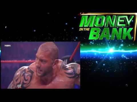 Undertaker Vs  CM Punk Vs  Batista Vs  Rey Mysterio WWE Championship Full Match