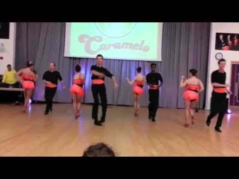 Caramelo Salsa Student Team at Caramelo Anniversary Party 25Apr2015