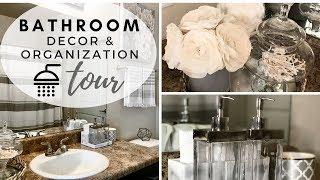 BATHROOM DECORATING IDEAS & TOUR 2018