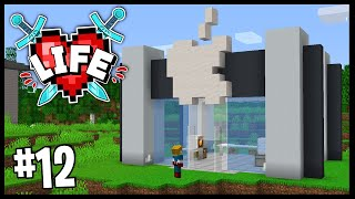 I OPENED UP MY OWN APPLE STORE!!   Minecraft X Life SMP   #12