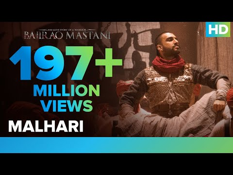 Malhari latest hindi Video from Hindi movie Bajirao Mastani