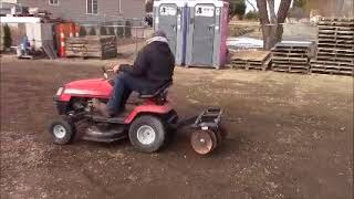 5. Y 485 Edited Video riding mower disc