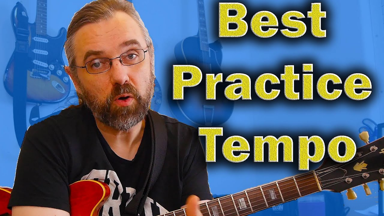 The Best Practice Tempo for Soloing and Improvising on the Guitar and why