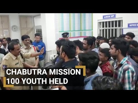 100 youngsters detained in Hyderabad Police's Chabutra Mission