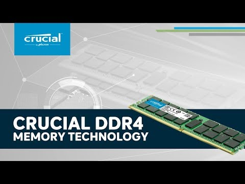 Crucial DDR4 Server Memory Overview