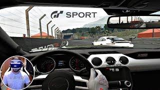Gran Turismo Sport -  PSVR Races | PS4 Pro Gameplay
