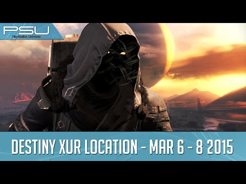Destiny Xur Location and Items March 6-8, 2015
