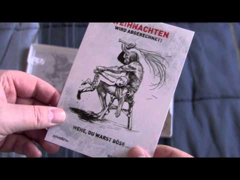 RARE EXPORTS German blu-ray steelbook unboxing
