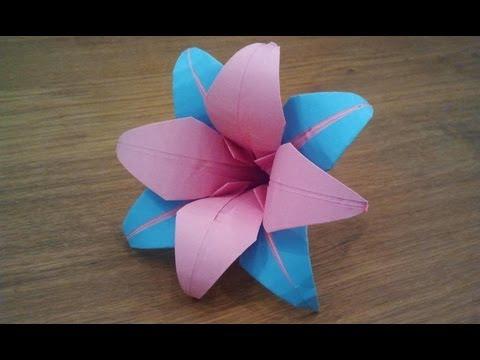 origami – il giglio