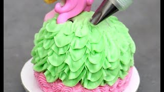 Cupcake Decorating Ideas With Buttercream Frosting | Cute Mini Cakes