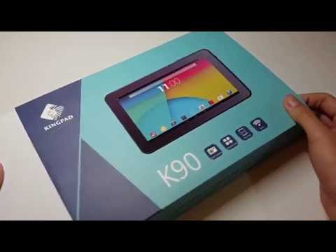 Best budget tablet? Kingpad K90 Unboxing and First impression!