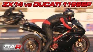 10. Ducati 1198 SP vs ZX14