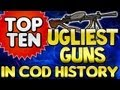 "TOP 10 - ""UGLIEST GUNS"" In Cod History (Top Ten - Top 10) ""Call of Duty"""