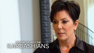KUWTK | Kris Jenner Breaks Down Over Loss of Bruce | E!