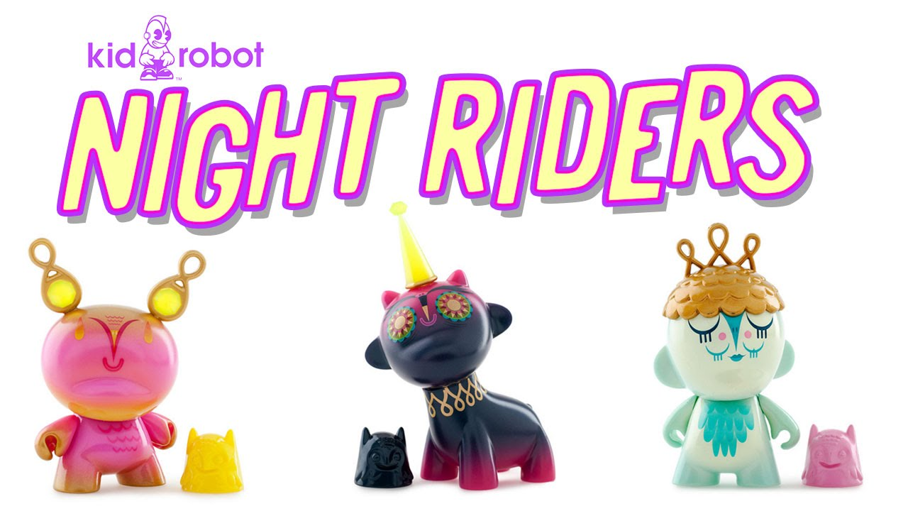 NIGHTRIDERS! NEW KIDROBOT!