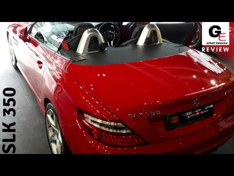 Mercedes Benz SLK 350 AMG | detailed review | price | features | specs !!!