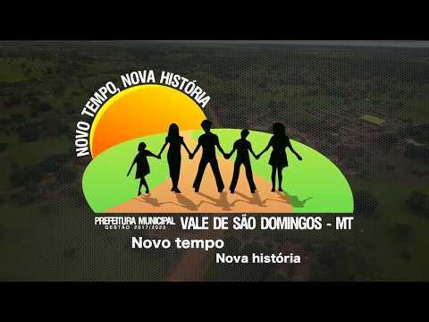 Vídeo institucional Prefeitura Municipal de Vale de São Domingos - MT