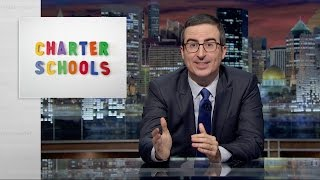 John Oliver Talks Charter School Corruption