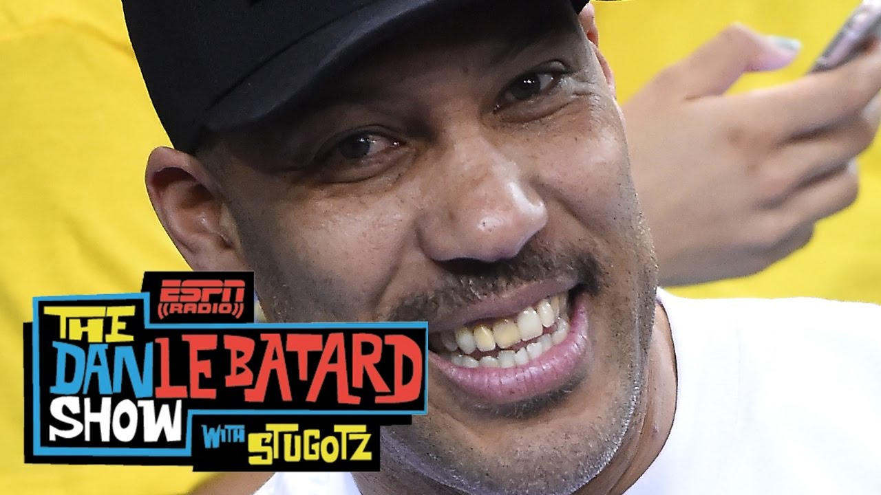 LaVar Ball Says Lonzo Ball Came Up With Sneaker Design | The Dan Le Batard Show With Stugotz | ESPN