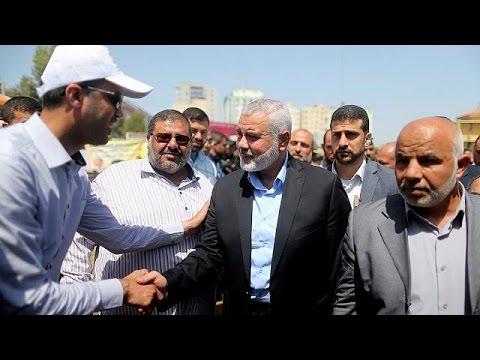 Τη στήριξή του στους Παλαιστίνιους κρατούμενους εξέφρασε ο ηγέτης της Χαμάς