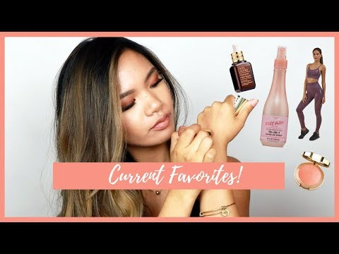 MY CURRENT FAVE STUFF | Ereka Jane