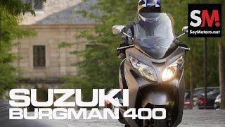 5. Prueba Scooter: Suzuki Burgman 400 ABS 2015