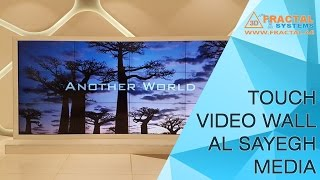 Touch Video Wall - Al Sayegh Media