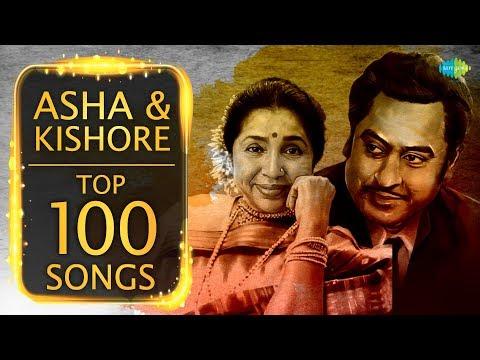 Download Top 100 songs of Asha Bhosle & Kishore Kumar | आशा - किशोर के 100 गाने | HD Songs | One Stop Jukebox HD Mp4 3GP Video and MP3